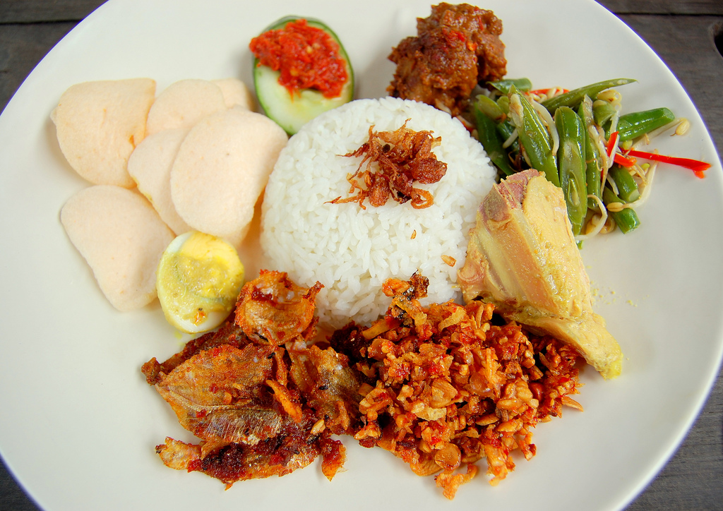 Image result for Nasi Campur