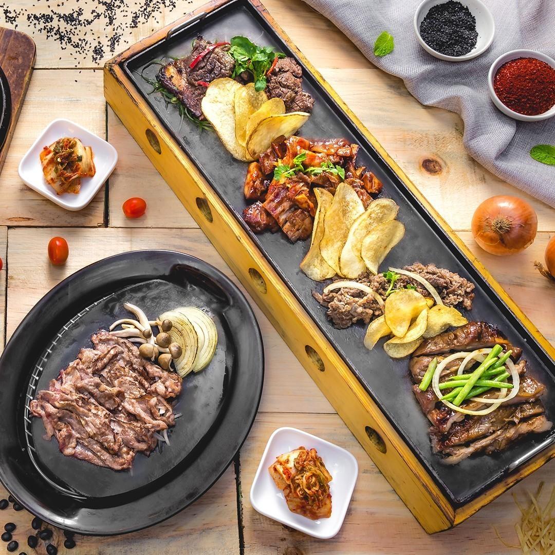menikmati masakan asli korea di bibigo. Black Bedroom Furniture Sets. Home Design Ideas